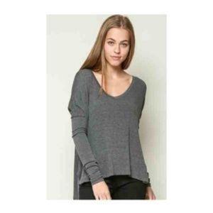 Brandy Melville Rib Soft Knit Bobbie sweater